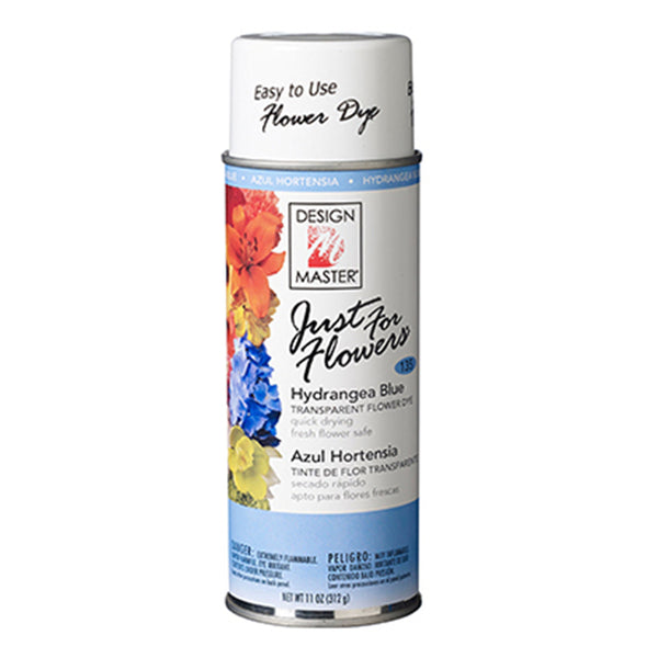Design Master 135 Just for Flowers Spray Paint, Hydrangea Blue