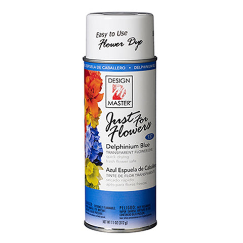 Design Master 137 Just for Flowers Spray Paint, Delphinium Blue
