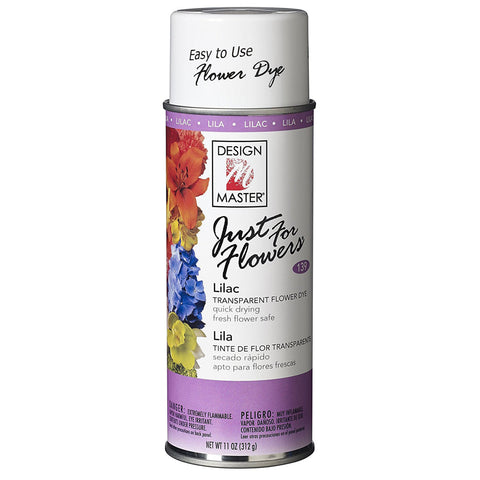 Design Master 139 Just for Flowers Spray Dye, Lilac