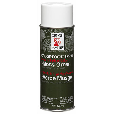 Design Master 721 Moss Green Colortool Spray