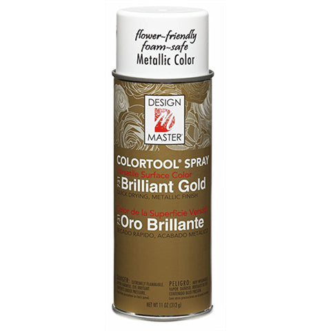 Design Master 731 Brilliant Gold Colortool Spray