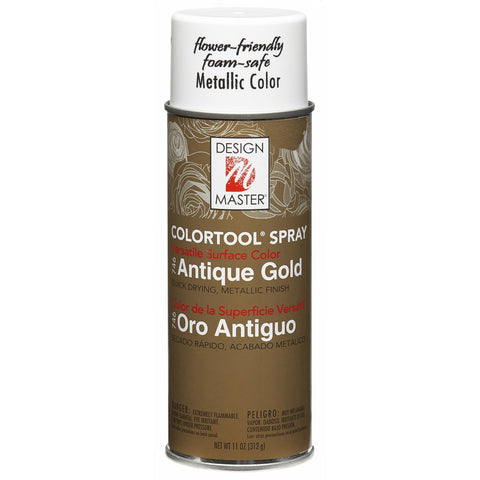 Design Master 746 Antique Gold Colortool Spray