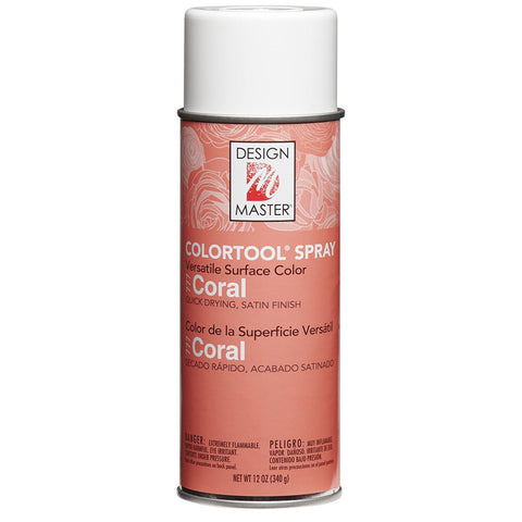 Design Master 777 Colortool Spray Paint, Coral
