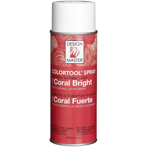 Design Master 778 Spray Paint, Coral Bright