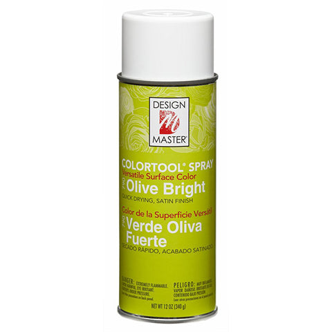 Design Master 790 Olive Bright Colortool Spray