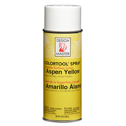 Design Master 791 Colortool Spray, Aspen Yellow