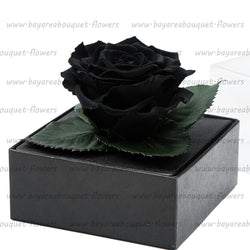 PRESERVED ROSE GIFT BOX BLACK