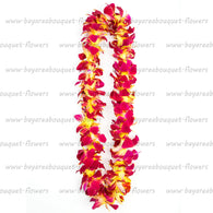 FRESH SINGLE LEIS - YELLOW SONNIA