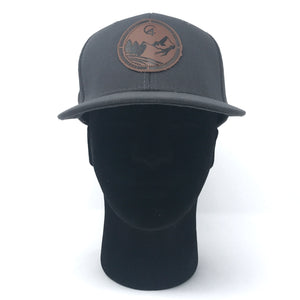 Grey C4 Burned Copacetic Patch Hat - Care Four
