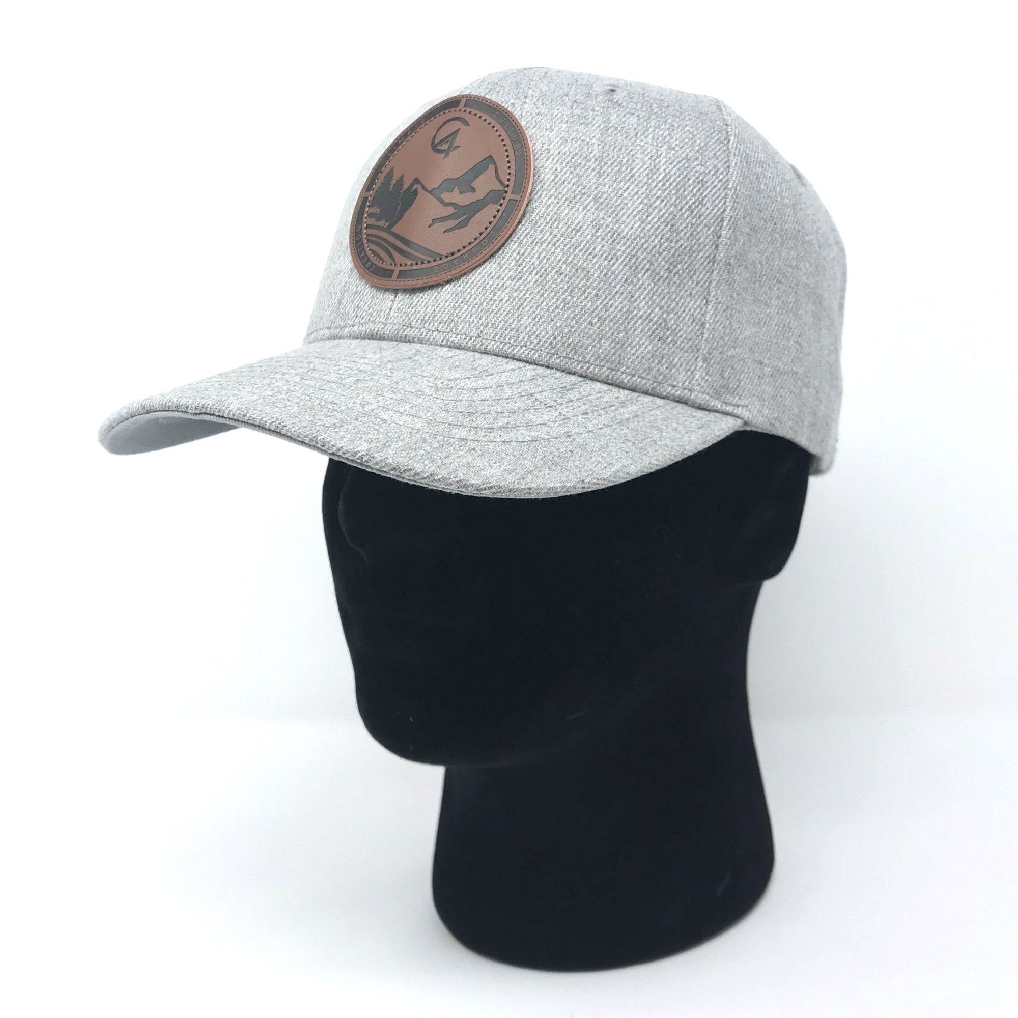 Heather Grey C4 Burned Copacetic Patch Hat - Care Four