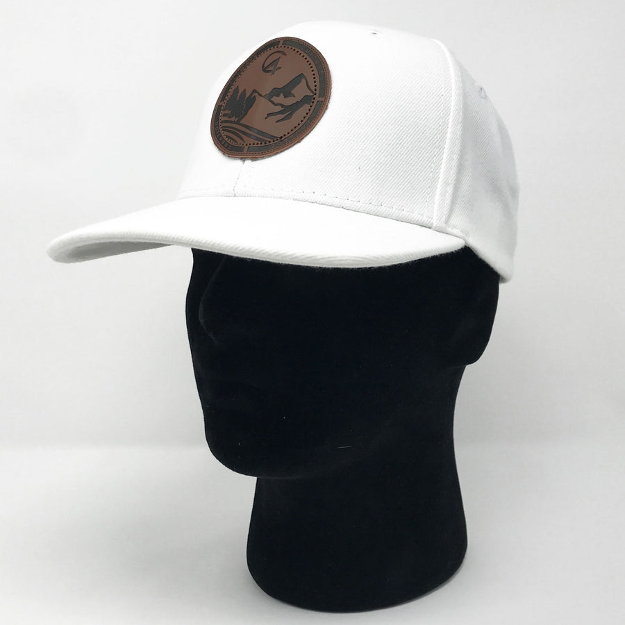 White C4 Burned Copacetic Patch Hat - Care Four