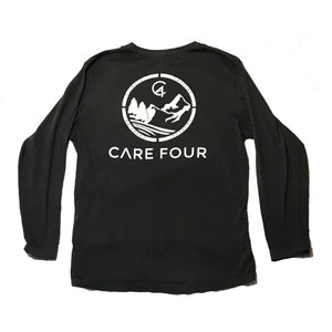 Dark Grey C4 Copacetic Long Sleeve Shirt - Care Four