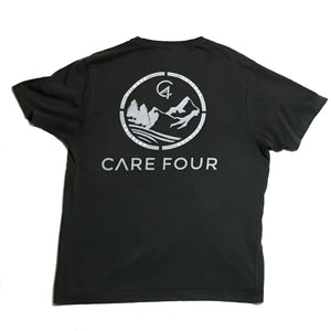 Dark Grey C4 Copacetic Short Sleeve Shirt - Care Four