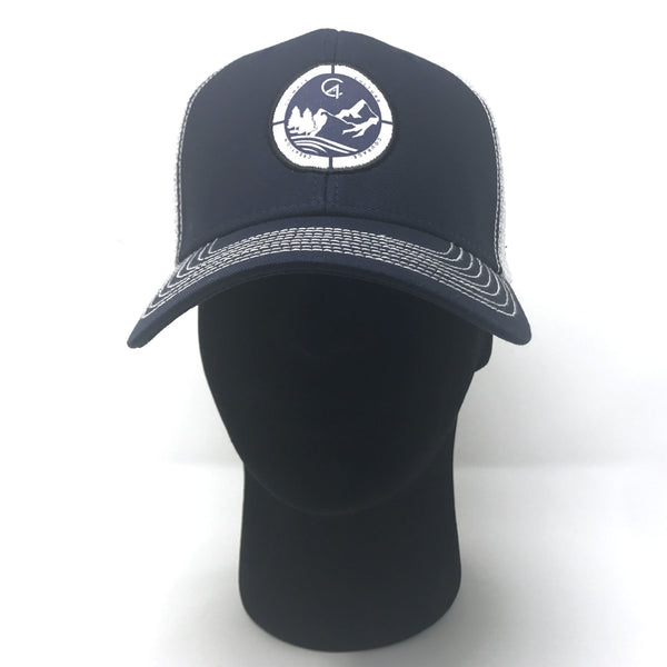 Navy C4 Copacetic Trucker Hat - Care Four