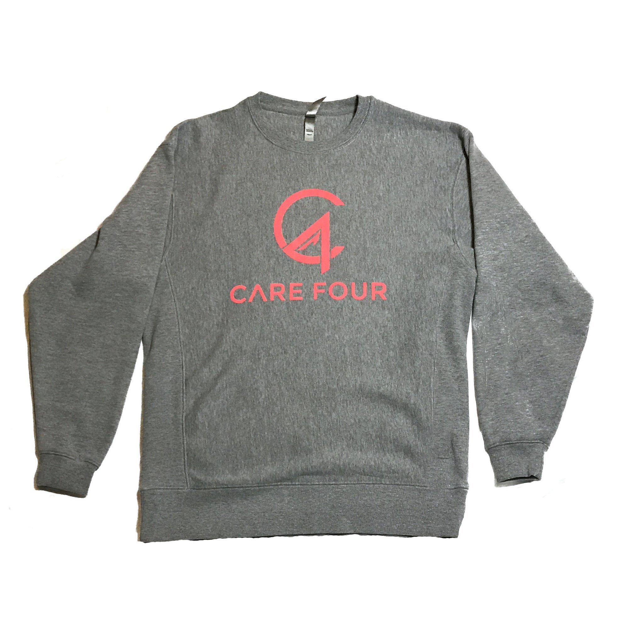 Peach C4 Crewneck Sweatshirt - Care Four