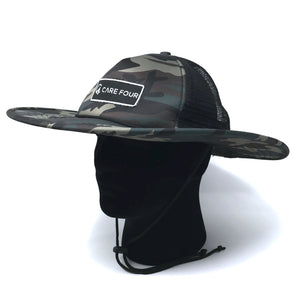 Camo C4 RnR Camo Trucker Bucket Hat - Care Four