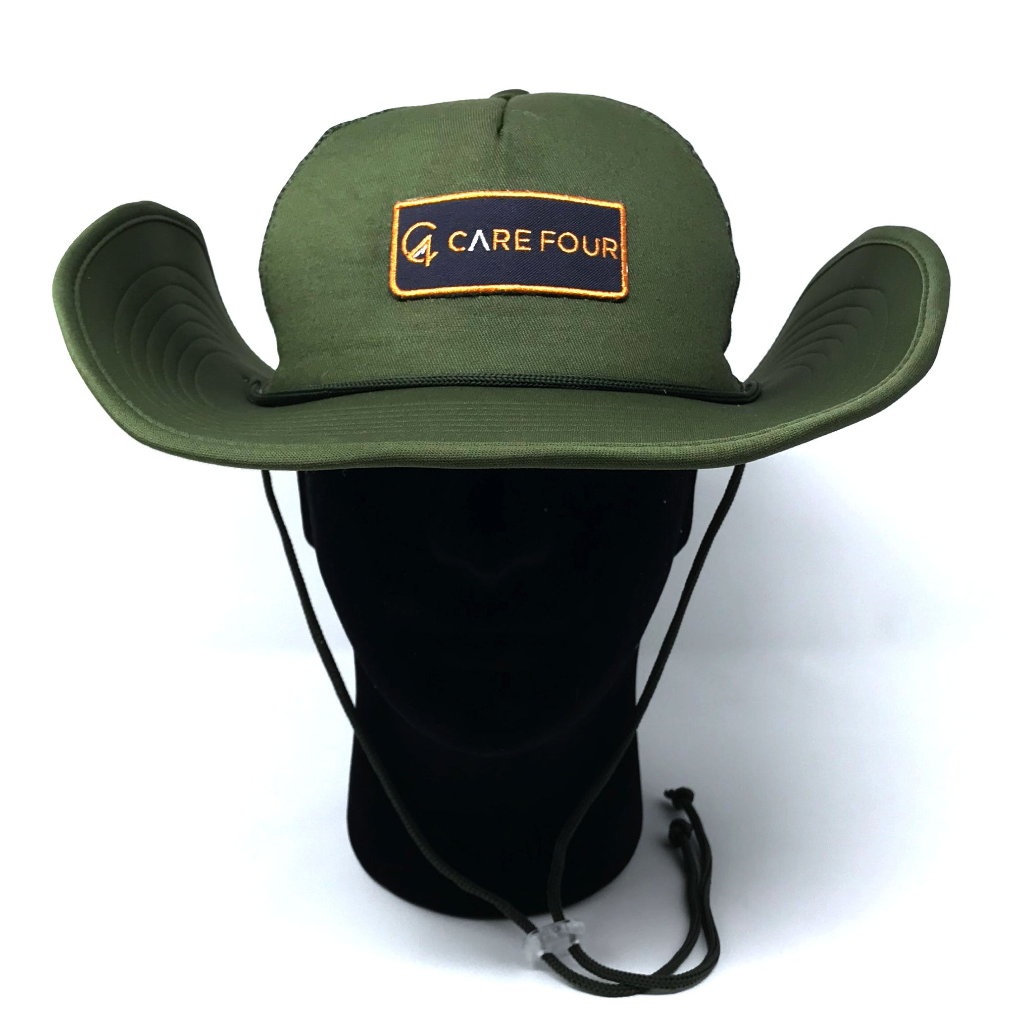 Olive C4 RnR Snapback Bucket Hat - Care Four