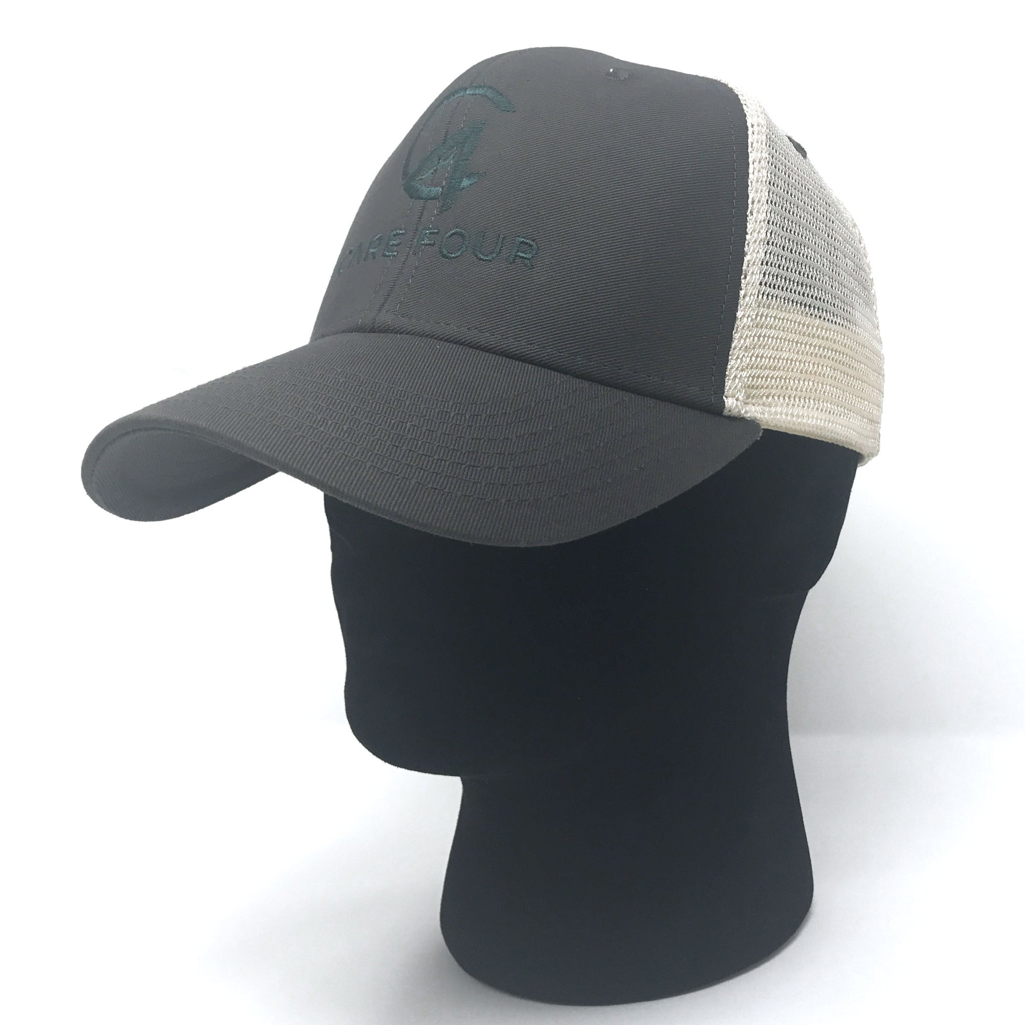 Grey C4 Classic Trucker Hat - Care Four