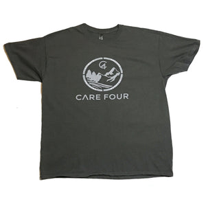 Grey C4 Copacetic T-Shirt - Care Four