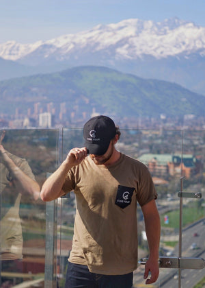 Army Green C4 Classic Pocket Tee - Care Four
