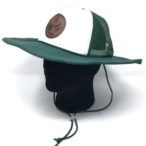 Green C4 RnR Snapback Bucket Hat - Care Four