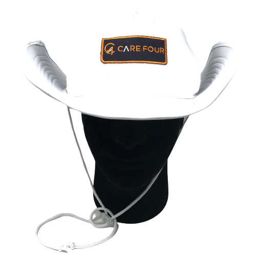 White C4 RnR Snapback Bucket Hat