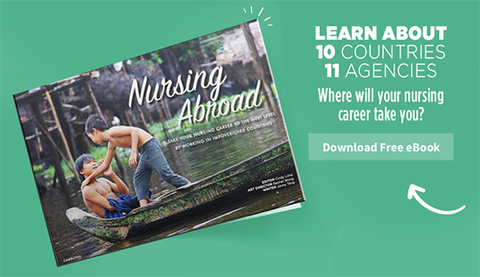 Download Our Free Nursing Abroad Ebook