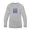 Limited Edition Voter Outreach Long Sleeve Shirt - heather gray