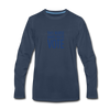 Limited Edition Voter Outreach Long Sleeve Shirt - navy