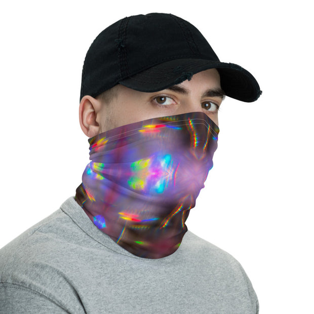 Holographic Print Face Mask / Neck Gaiter / Headband / Bandana