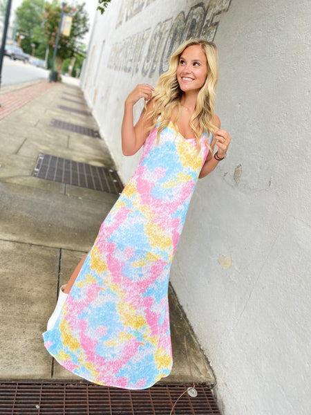 Landed In Paradise Maxi Dress