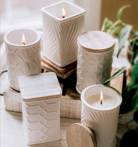 Swan Creek White Collection Candles