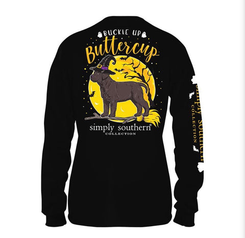 SS Buckle Up Long Sleeve Tee