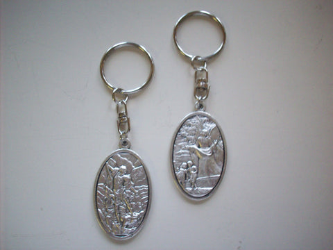 Key Chain - St. Michael/Guardian Angel