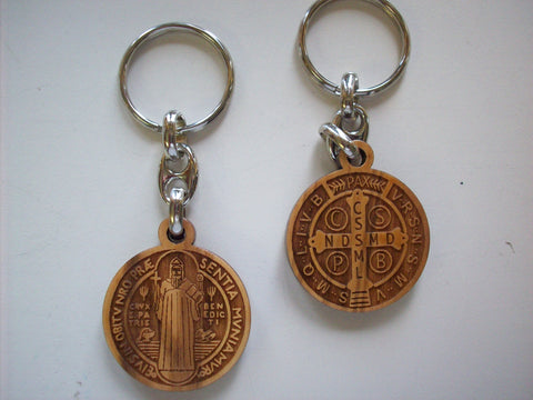 Key Chain - St. Benedict