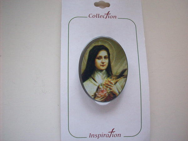 Auto Visor Clip - St. Therese