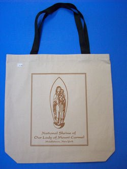 Our Lady of Mount Carmel Canvas Tote Bag