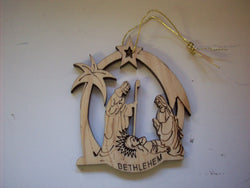 Christmas Ornament - Bethlehem
