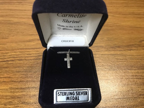 Infant Crucifix - Sterling Silver
