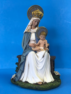 Madonna and Child Seated - 6.5 inches