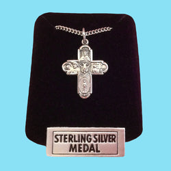 5 Way Confirmation Cross- Sterling Silver
