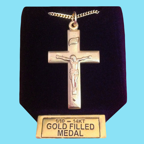 Crucifix -14KT Gold Filled