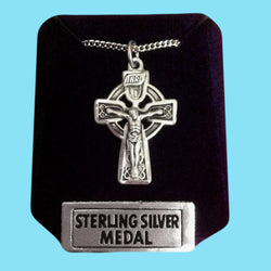 Celtic Crucifix - Sterling Silver