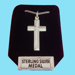 Cross -Sterling Silver