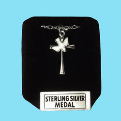 Holy Spirit Maltese Cross -Sterling Silver