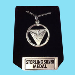 Holy Spirit Dove - Sterling Silver