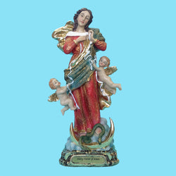 Mary Untier of Knots Statue  8""
