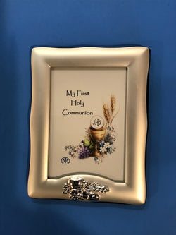 Communion Photo Frame - Silver-plated