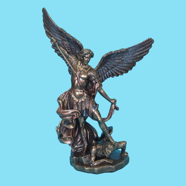St. Michael the Archangel - Bronze - 10""