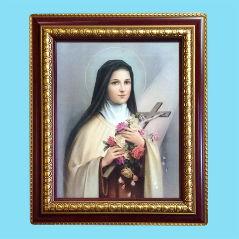 St. Therese of Lisieux - Framed